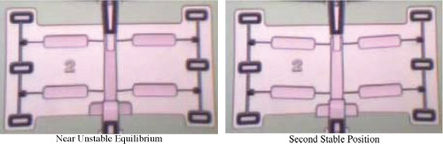 Design optimization of a fully-compliant bistable micro-mechanism